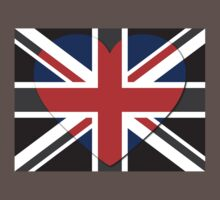 United Kingdom Flag T-shirt Baby Tee