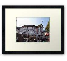 The Globe Theatre London William Shakespeare Framed Print