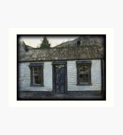 Settlers Cottage.  Arrowtown,South Island, New Zealand Art Print