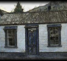 Settlers Cottage.  Arrowtown,South Island, New Zealand by Dave Morrison