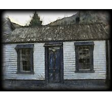 Settlers Cottage.  Arrowtown,South Island, New Zealand Photographic Print