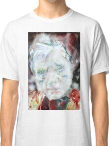 FRANCIS BACON - watercolor portrait.2 Classic T-Shirt