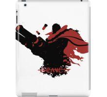 Graves Ink Black iPad Case/Skin