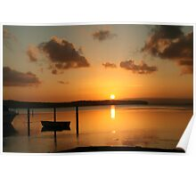 Sunset Afternoon Poster