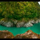 Hokitika Gorge by Michael Thoms