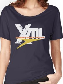 XML -  EXtensible Markup Language Women's Relaxed Fit T-Shirt