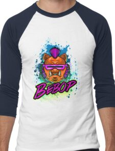 BEBOP Men's Baseball ¾ T-Shirt