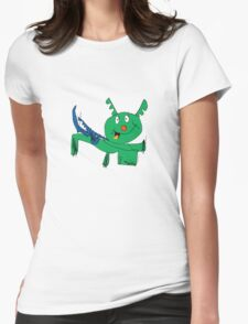 It's fun being a dragon Womens Fitted T-Shirt