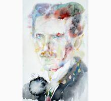 NIKOLA TESLA - watercolor portrait.3 Unisex T-Shirt