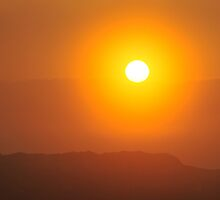 Port Fairy Sunrise in the Mist by Barbara Jones