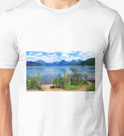 McDonald Lake, Glacier National Park Unisex T-Shirt