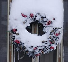 Snow garland by Margherita Bientinesi