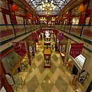 Brisbane Arcade (was the Strand Arcade - from memory) by Chris Cohen