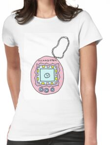 tamagotchi Womens Fitted T-Shirt