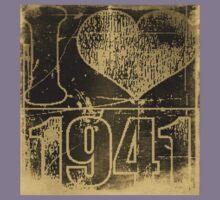 I love 1941 - Vintage t-shirt Kids Tee