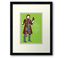 Doctor Who - Tom Baker Framed Print