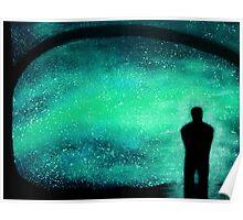Meditation Under the Stars Poster