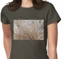 Icy Grass Sculptures Womens Fitted T-Shirt