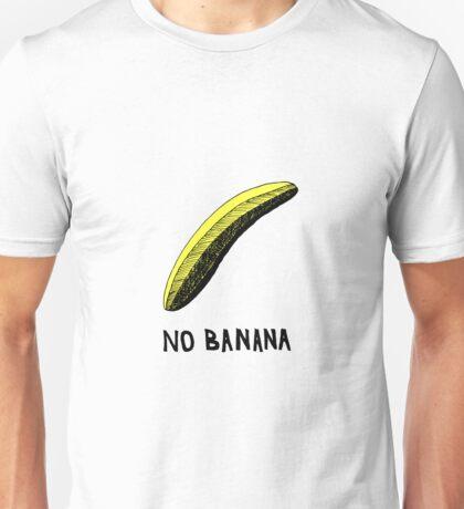 No Banana Unisex T-Shirt