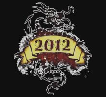 2012 - Year of the Dragon - T-Shirt by Nhan Ngo