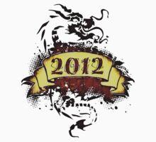 2012 - Year of the Dragon - T-Shirt Kids Tee