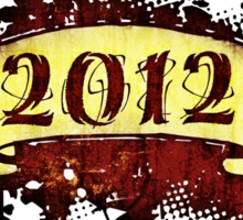 2012 - Year of the Dragon - T-Shirt Sticker