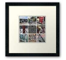 Fixie Fixation Framed Print