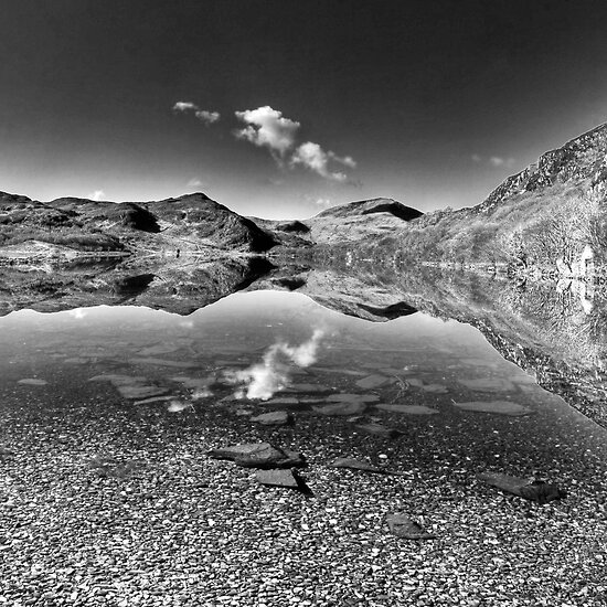 Llyn Dinas by Bob Culshaw
