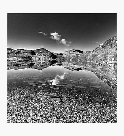 Llyn Dinas Photographic Print