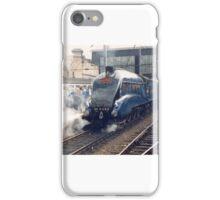 Mallard arriving at Carlisle - Steam Trains iPhone Case/Skin