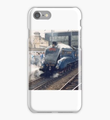 Mallard arriving at Carlisle - Steam Trains iPhone Case/Skin