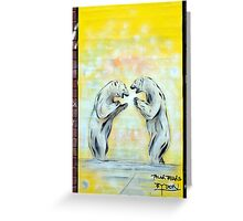 Polar Bears by Paul Don Smith Greeting Card