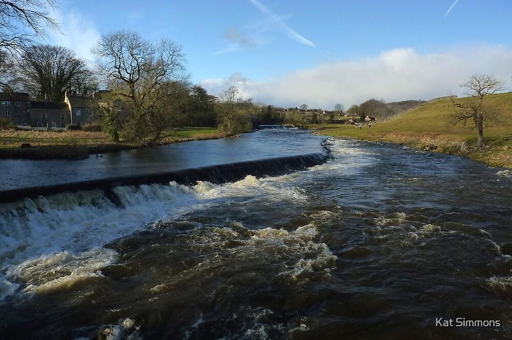 The River Wharfe - Grassington by Kat Simmons