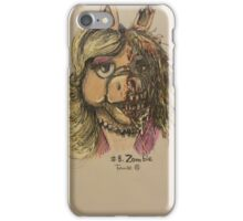 Zombie Piggy iPhone Case/Skin