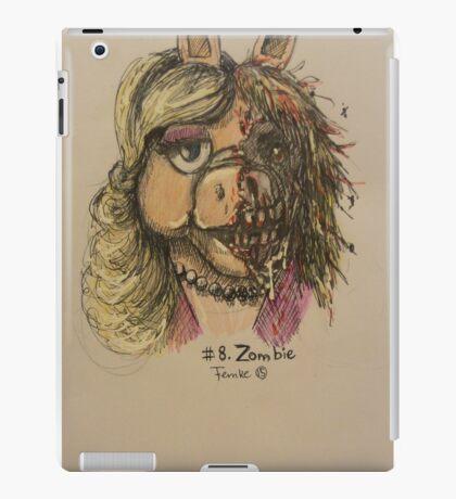 Zombie Piggy iPad Case/Skin
