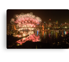Simply The Best ! - Sydney NYE Fireworks  #9 Canvas Print