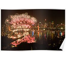 Simply The Best ! - Sydney NYE Fireworks  #9 Poster