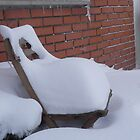 Tired snow?...take a sit! by Margherita Bientinesi