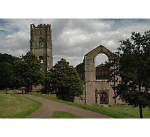 Ruined Fountains Abbey Photographic Print
