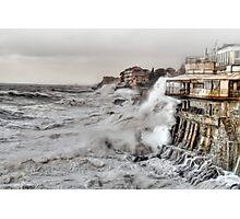 Nervi Genova Photographic Print