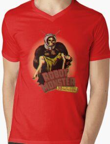 Robot Monster Mens V-Neck T-Shirt