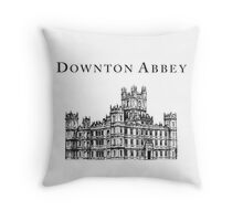 The big house Throw Pillow
