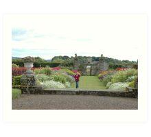 Castle Island from Kinross House Art Print