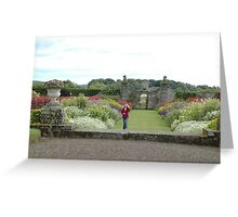Castle Island from Kinross House Greeting Card