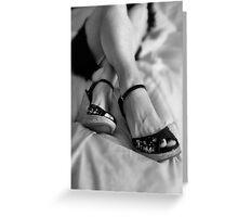 Dancing Shoes Greeting Card