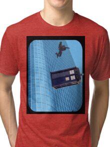 how he did it Tri-blend T-Shirt