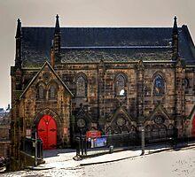 St Columba's Free Church by Tom Gomez