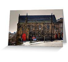 St Columba's Free Church Greeting Card