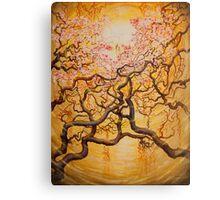 Sun and Sakura Canvas Print