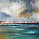 Brighton pier by Ivor